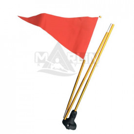 Bandera señalizadora de kayaks 1,3m.