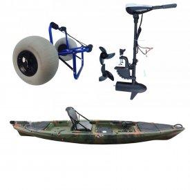 Kayak Marlin TOP con motor eléctrico